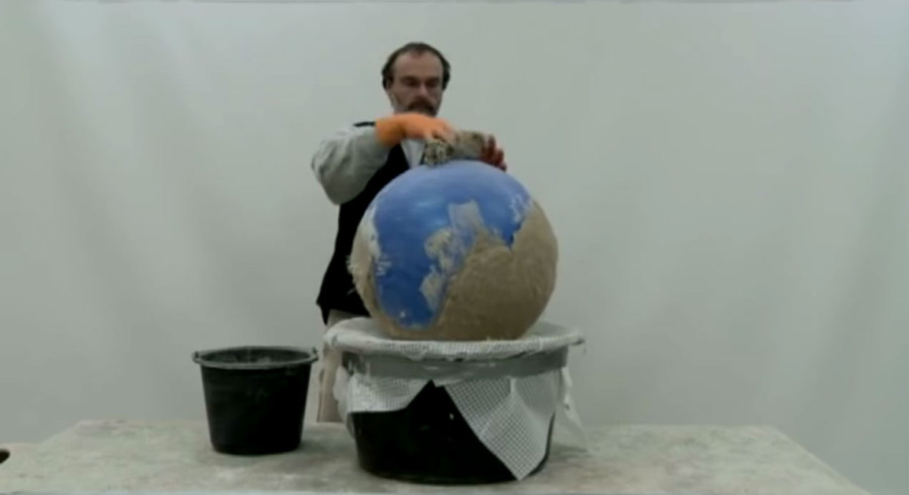Deko kugel aus beton selbst herstellen