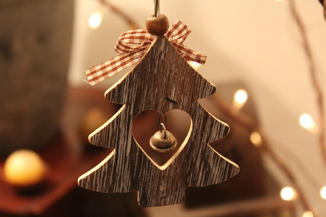 Weihnachten Beton Deko selbst herstellen