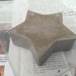 Beton Deko Skulptur selbst herstellen - Weihnachten