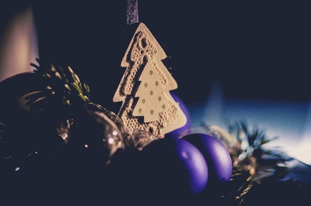 Beton-Deko für Weihnachten selbst machen