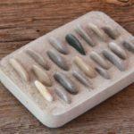 Seifenschale aus Beton selbst herstellen - Beton Deko Ideen
